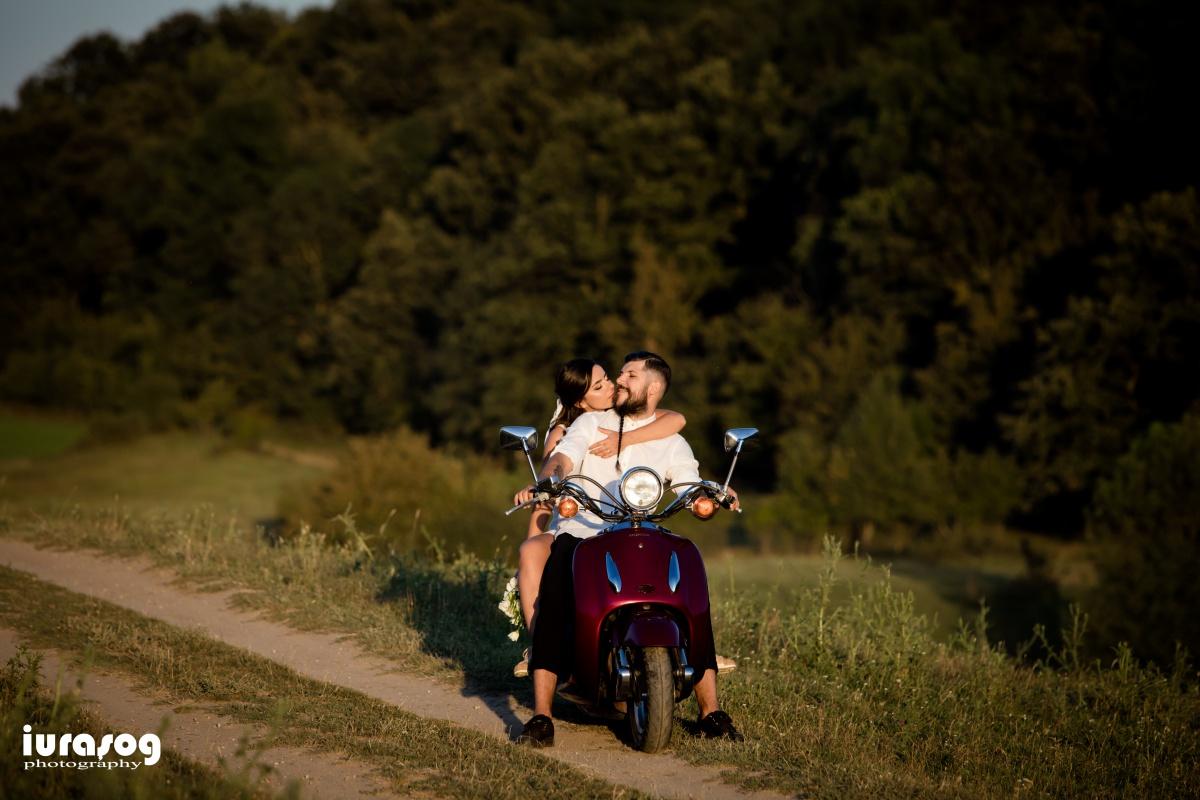 sedinta foto miri scooter
