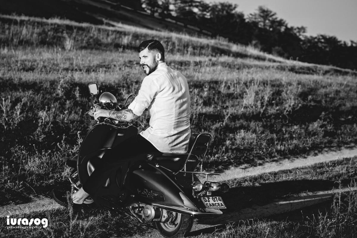 sedinta foto mire scooter