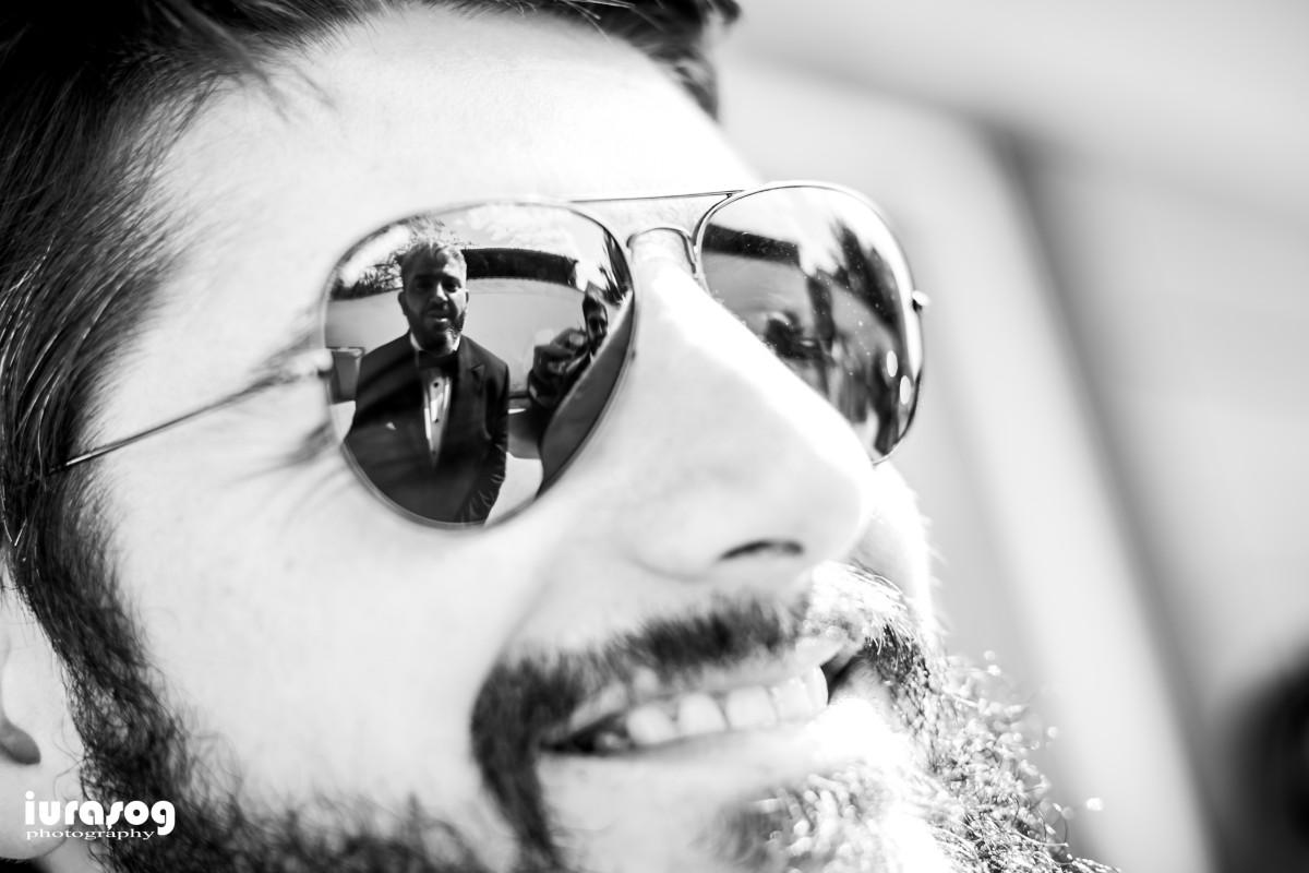 reflexie in ochelari
