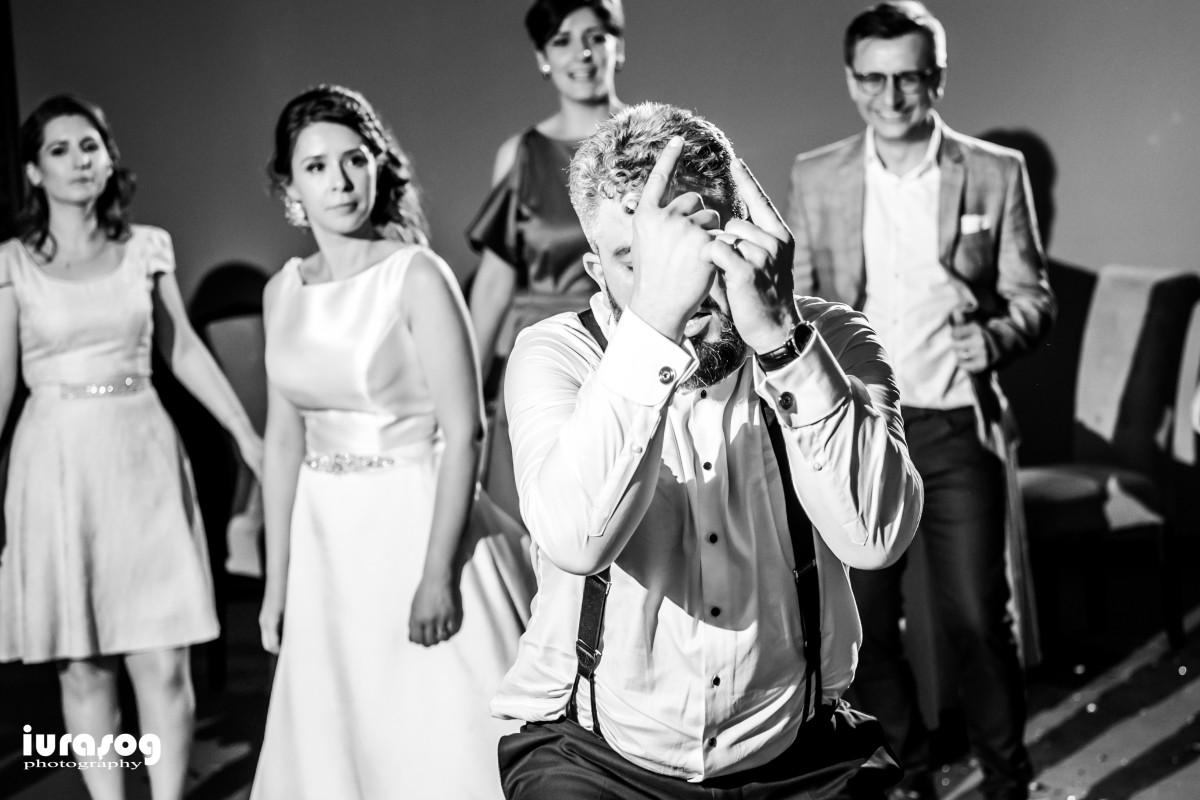 Emil dans rock restaurant la nunta Bucuresti