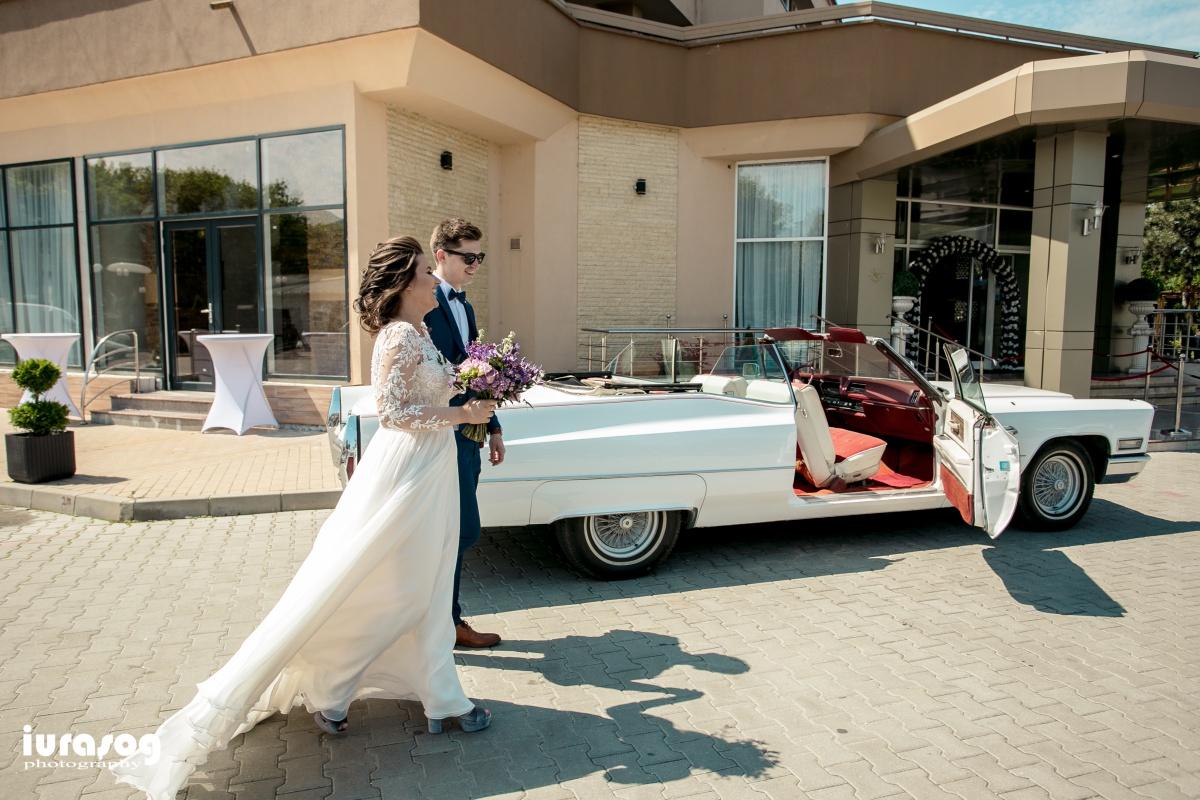 fotografie de nunta Craiova miri si Cadillac