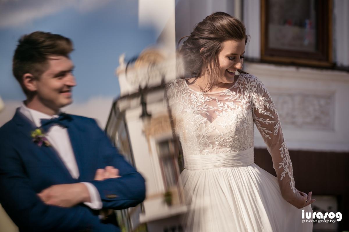 fotografie de nunta Craiova reflexie mire