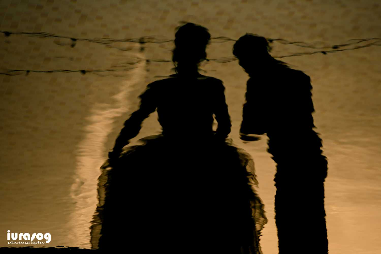 Iulia si Andrei reflexie apa