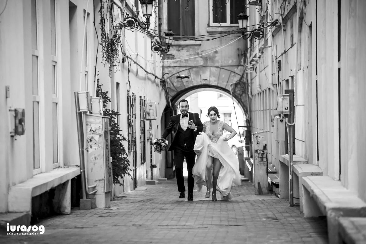 nunta Adelina si Stefan mirii alearga