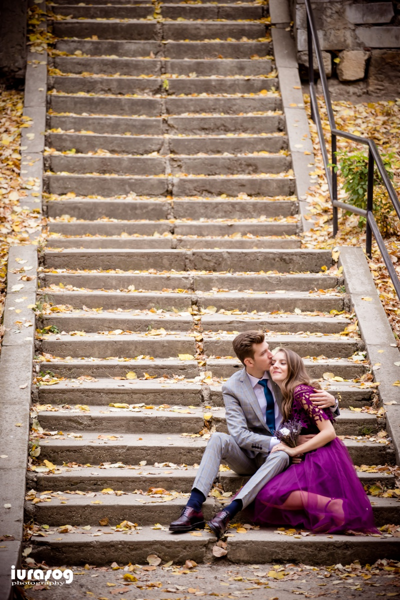 poza pe scari